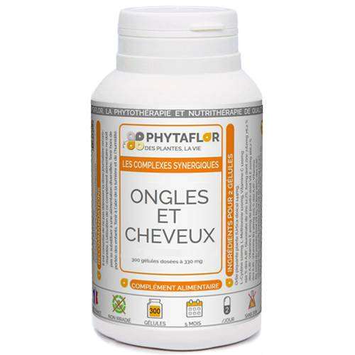 PHYTAFLOR Ongles & Cheveux Phytaflor - . : 1000 gélules