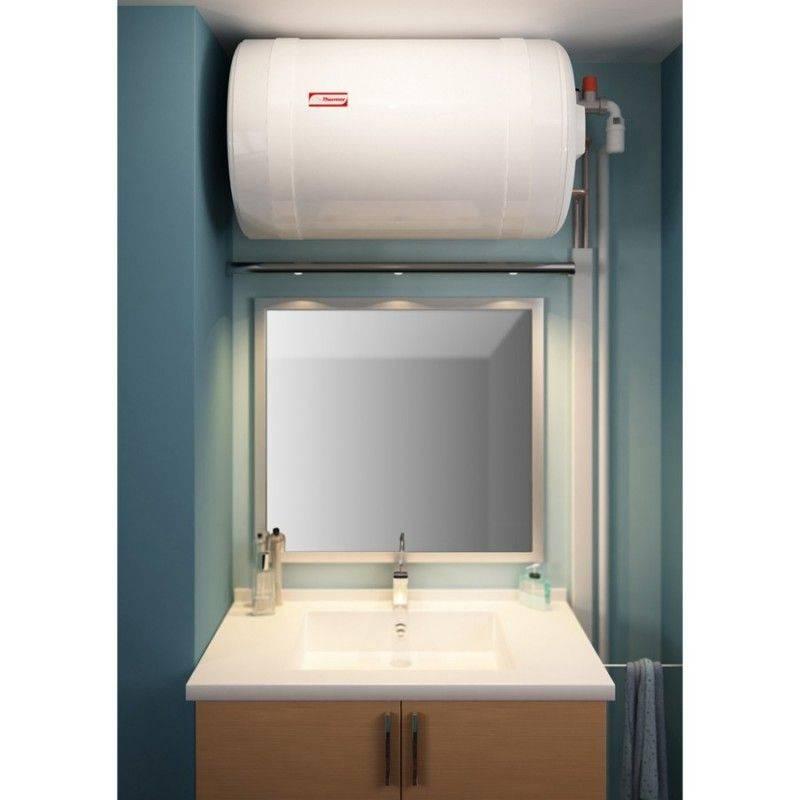 Thermor Chauffe-eau électrique 75 litres Thermor blindé horizontal mural raccordement côté