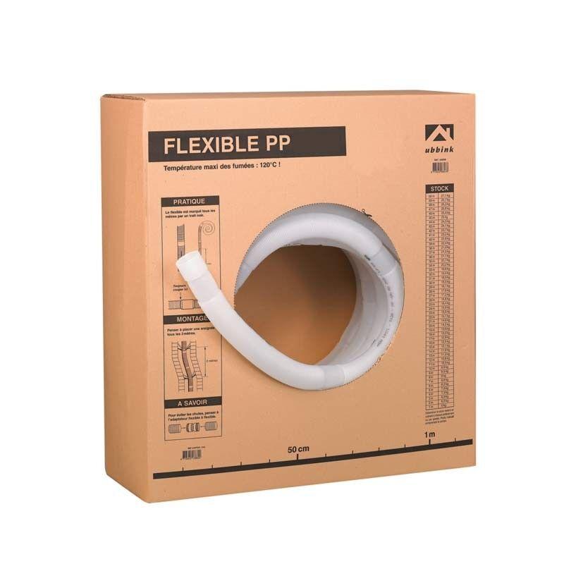 Ubbink Gaine flexible PPTL Diamètre 80 mm - Ubbink