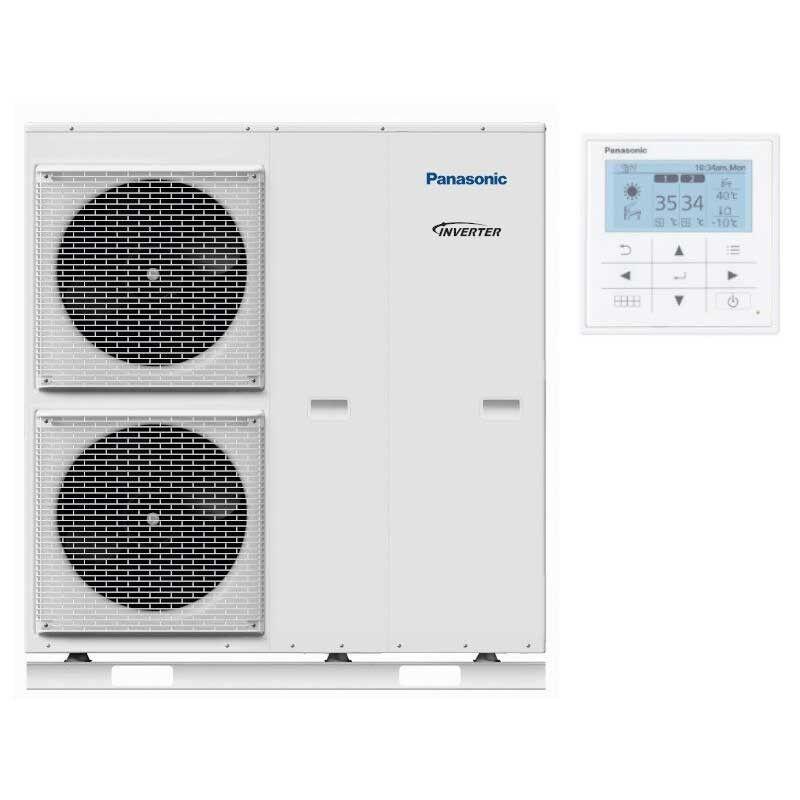 Panasonic Pompe à chaleur Air Eau Monobloc Panasonic Génération H