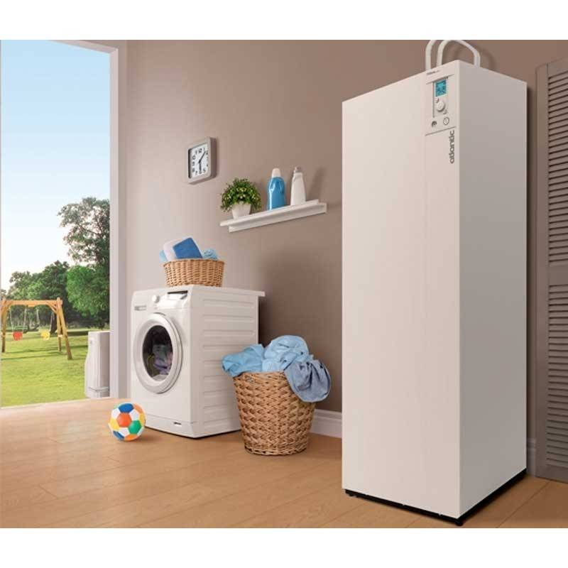Atlantic Pompe à chaleur air-eau Extensa Duo AI 8 Kw R32 - Atlantic