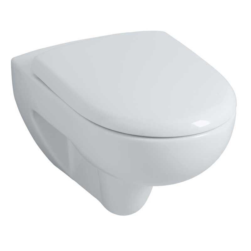 Geberit Pack WC Renova/Prima RIMFREE suspendu avec abattant frein de chute