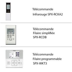 Hitachi Télécommande climatiseur Hitachi - Publicité