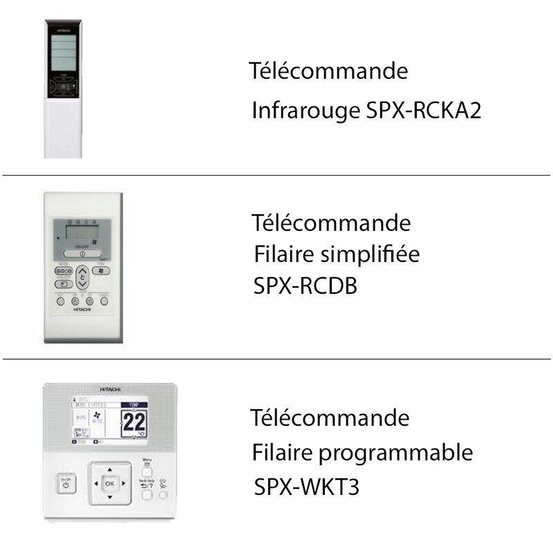 Hitachi Télécommande climatiseur Hitachi