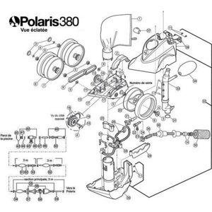 Polaris N°33 - Conduit d'alimentation pour Polaris 380 - Publicité