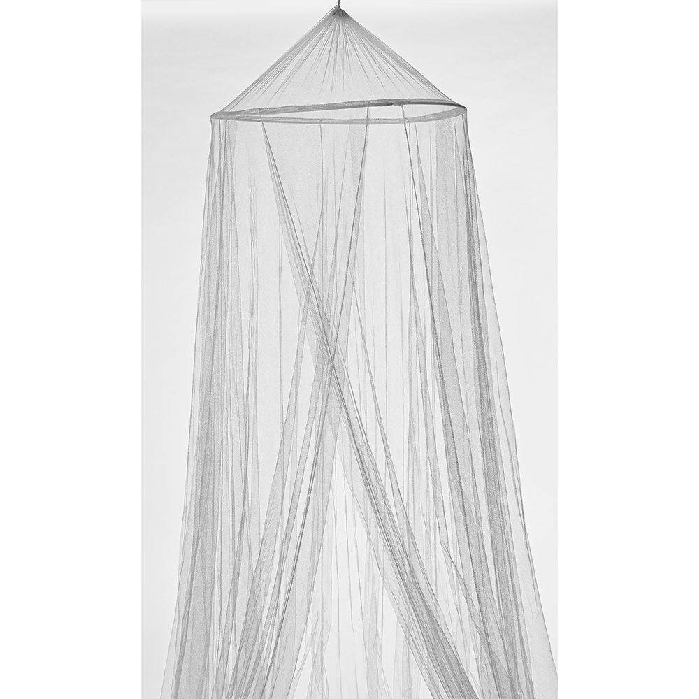 Moustiquaire ciel de lit blanc polyester