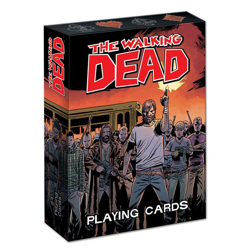 Usaopoly Jeu de cartes The Walking Dead