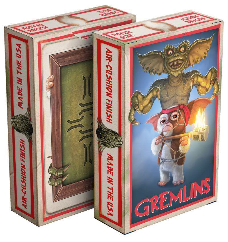 Albinodragon Jeu de cartes Gremlins Cartes à jouer Gremlins playing card deck sealed