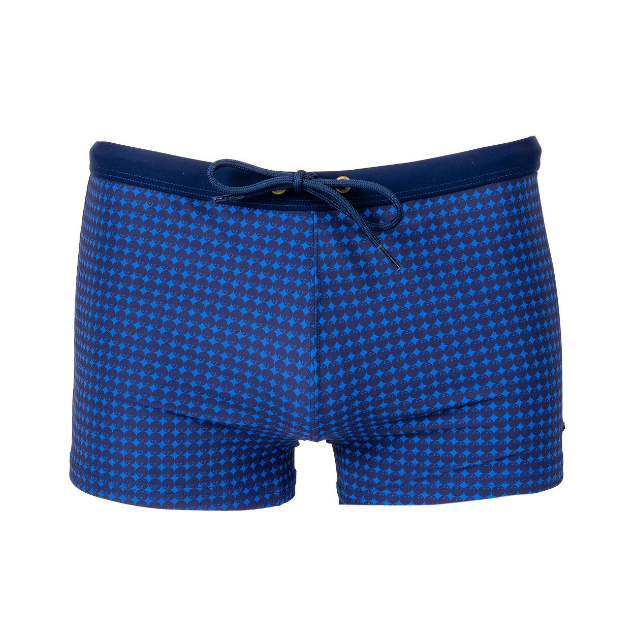 Eminence Boxer de bain Eminence bleu à motifs boules de bowling bleu marine - BLEU - XL