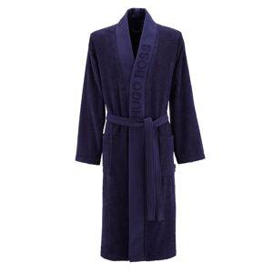Hugo Boss Kimono Hugo Boss Plain en coton d'Egypte bleu marine - BLEU - S