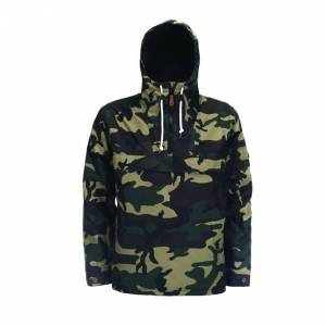 Dickies Veste à capuche Milford Dickies à motif camouflage vert et kaki - VERT - M