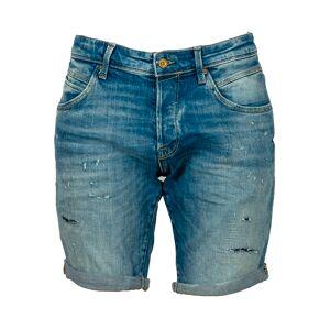 Jack & Jones Short Jack & Jones Rick en coton stretch bleu denim - BLEU - M