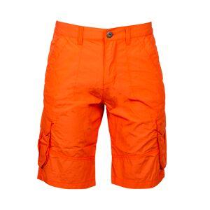 TBS Bermuda cargo TBS Abamber en coton orange - CORAIL - - Publicité