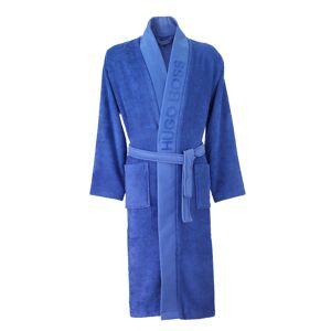 Hugo Boss Kimono Hugo Boss Plain en coton d'Egypte bleu roi - BLEU - S - Publicité