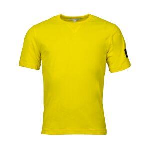 Calvin Klein Jeans Tee-shirt col rond Calvin Klein Jeans en coton jaune - JAUNE - M