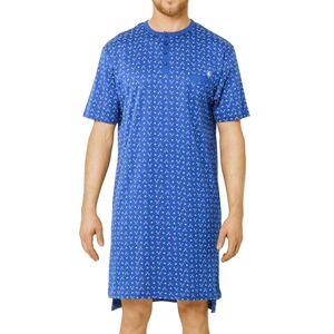 Mariner Liquette Mariner en coton bleu marine à motifs bleu ciel - Bleu - L