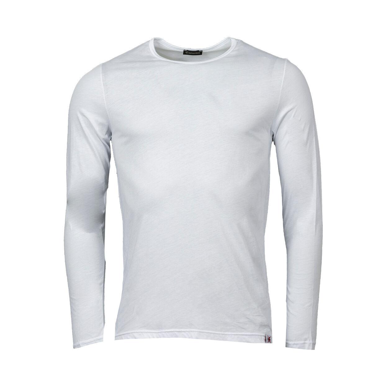 Eminence Tee-shirt anti-moustiques à col rond Eminence en coton blanc - BLANC - L