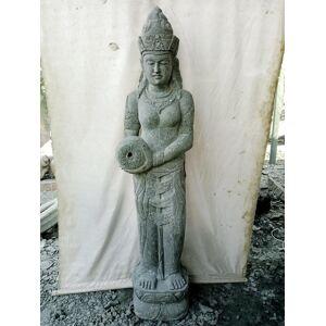 Wanda Collection Statue en pierre naturelle verseuse d'eau déesse Dewi 2 m - Publicité