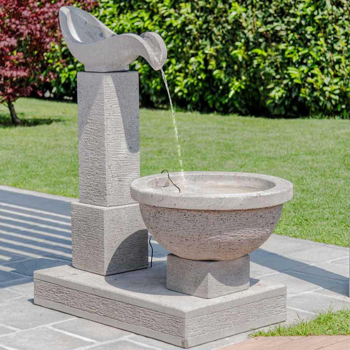 Wanda Collection Fontaine de jardin cascade 120 cm