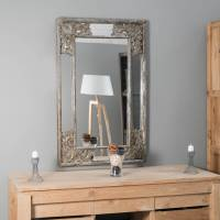 Wanda Collection Miroir déco en bois patiné Mathilde bronze 1m10 x 70cm <br /><b>139 EUR</b> Wanda collection