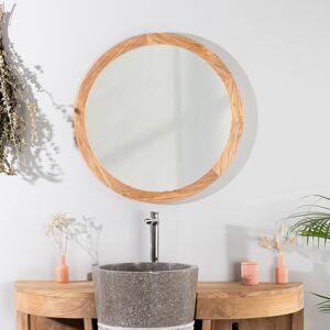 Wanda Collection Miroir Hublot 68cm en teck - Publicité