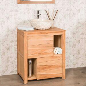 Wanda Collection Meuble de salle de bain en teck massif cosy 70 cm - Publicité