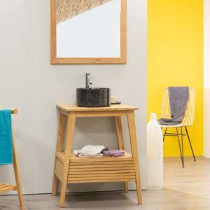 Wanda Collection Meuble salle de bain en teck SCANDINAVE 70 - Publicité