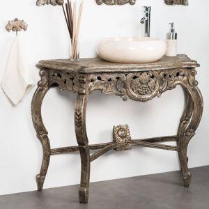 Wanda Collection Meuble salle de bain patiné bronze BAROQUE 100 - Publicité