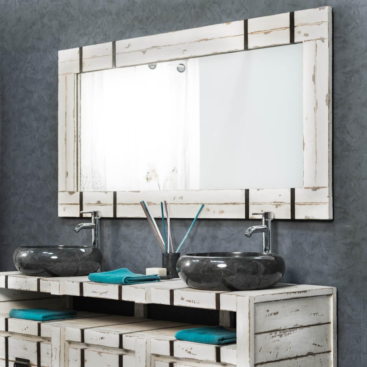 Wanda Collection Grand Miroir de salle de bain LOFT 160x80