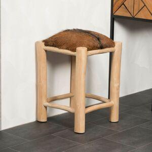 Wanda Collection Tabouret en bois LODGE - Publicité
