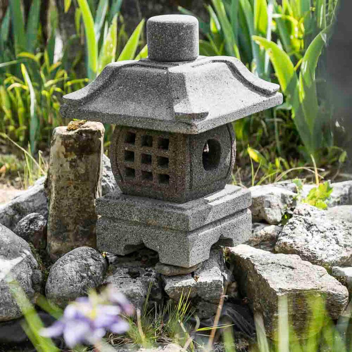 Wanda Collection Lanterne de jardin japonais 40 cm