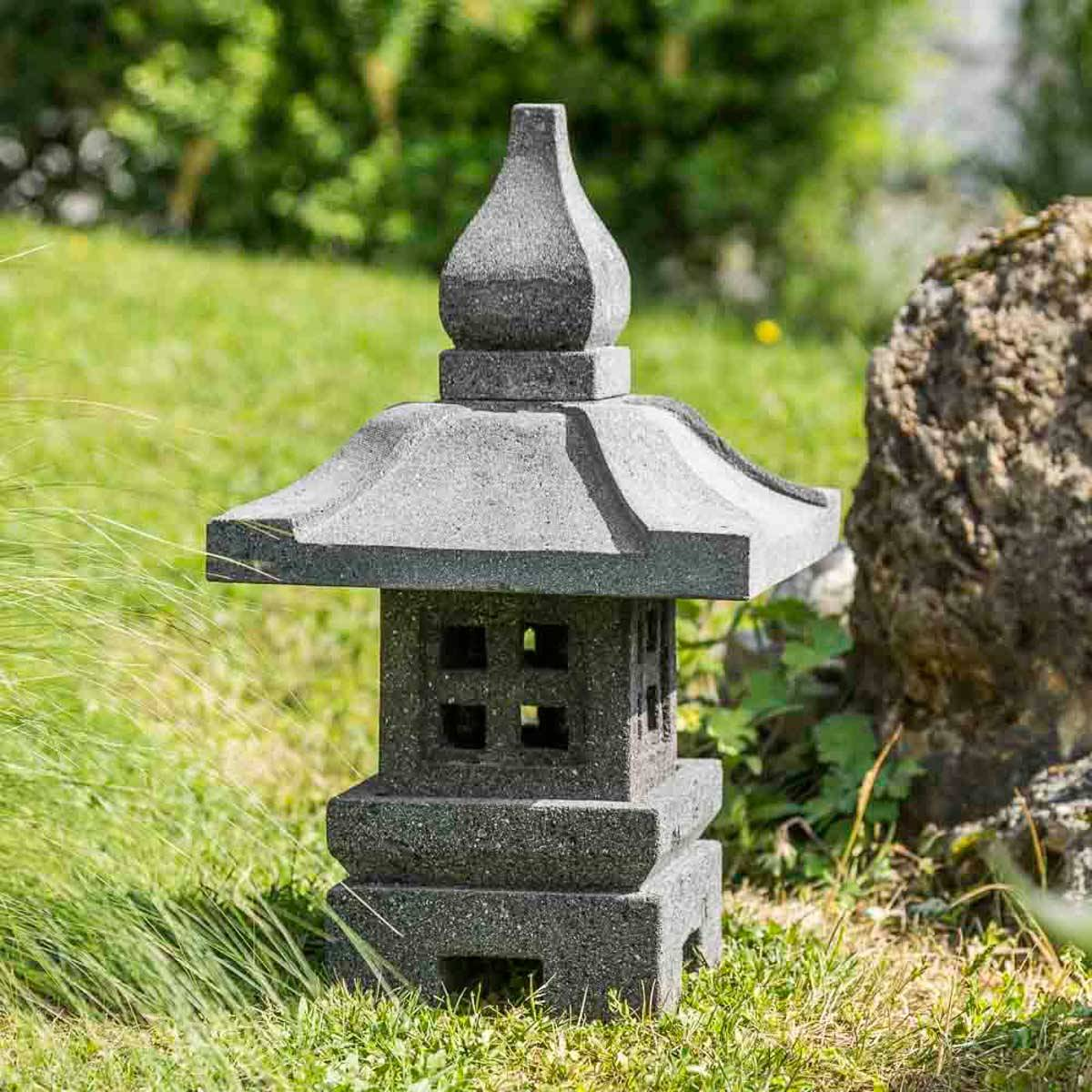 Wanda Collection Lanterne de jardin japonais deco zen 50 cm