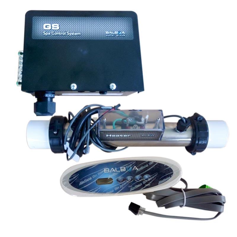 balboa centrale électronique gs100 avec réchauffeur 2kw et clavier vl260 - balboa