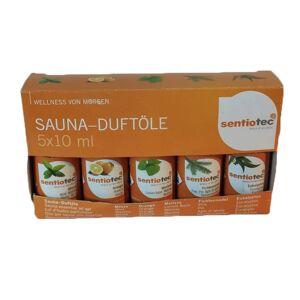 """Helo """"Kit de 5 senteurs sauna (menthe - eucalyptus - orange - épicéa - mélisse)"""" - Publicité"""