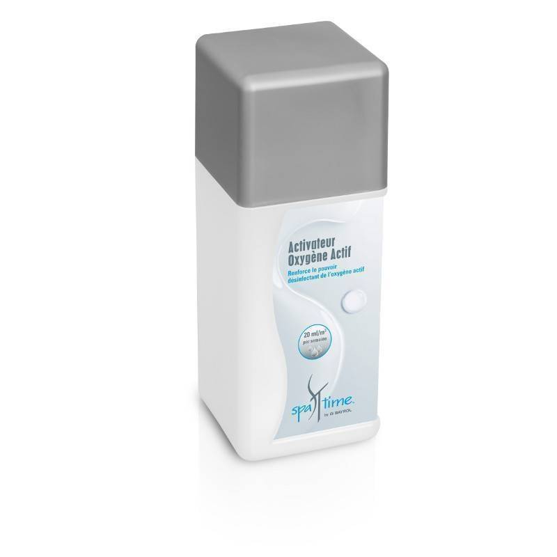 "Bayrol ""BAYROL Spa Time - Activateur d'Oxygène Actif - 1L"""