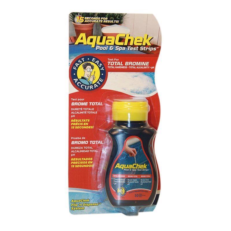 """Aquachek """"AquaChek rouge brome 4 en 1"""""""