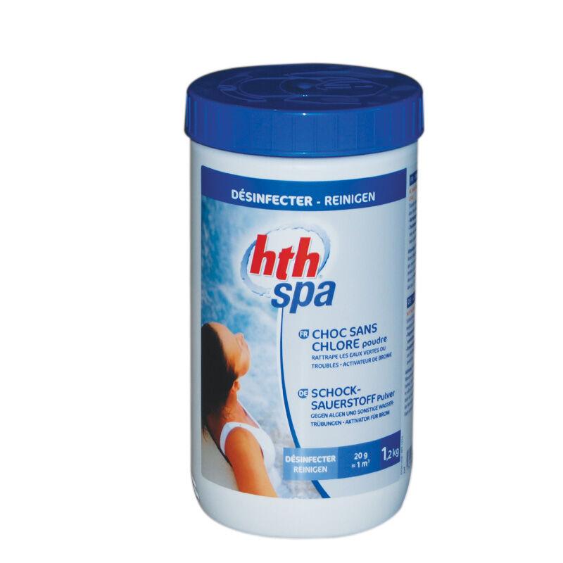 "HTH ""HTH Spa - Choc sans chlore - Poudre - 1,2kg"""