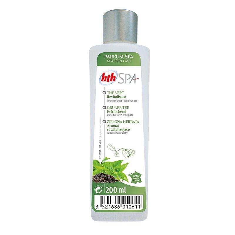 """HTH """"Aromathérapie pour spa - Thé Vert - 200ml - HTH"""""""