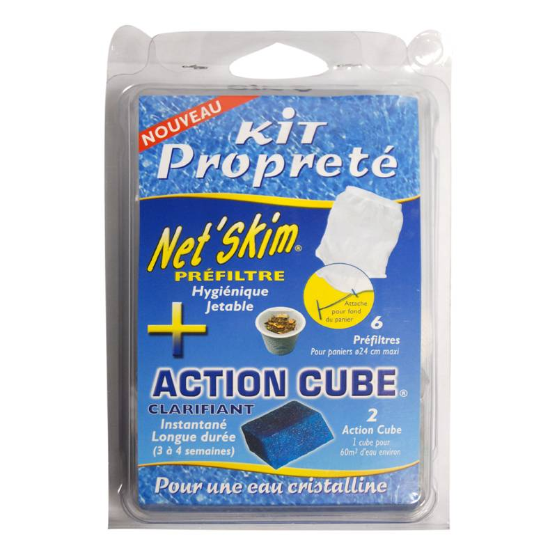 "Toucan ""Pack Net'Skim + action cube - Toucan"""
