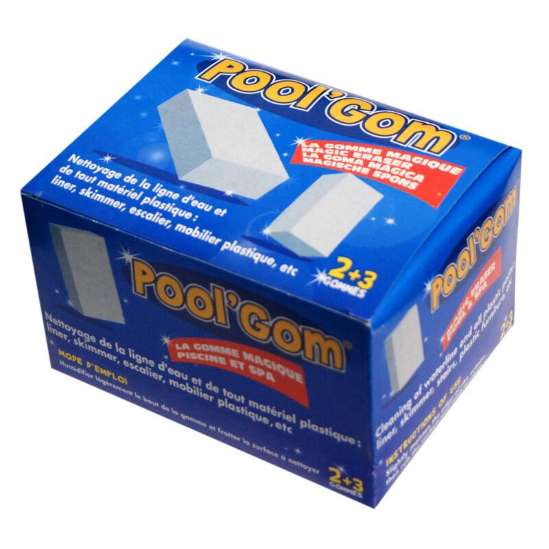"""Toucan """"Pool'Gom - lot de 3 gommes"""""""