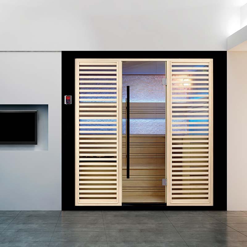 """""""Bain et Confort"""" """"Sauna de Luxe traditionnel 8 places Arizona"""""""