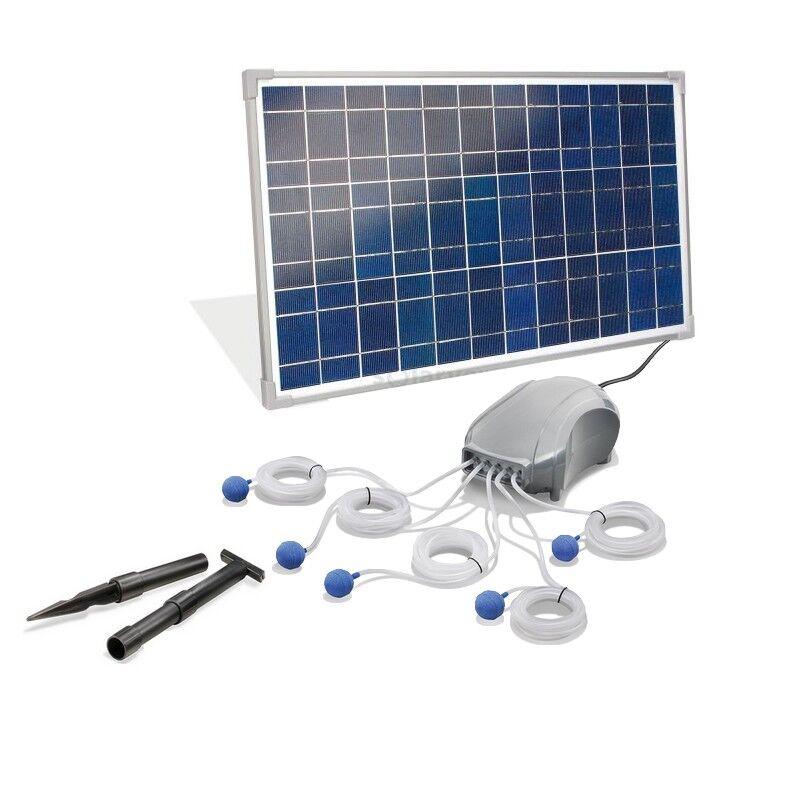 Esotec Oxygénateur solaire plan d'eau gros débit 600L-25W Pro