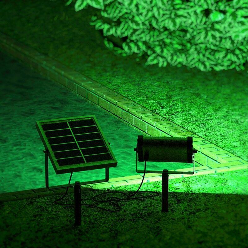 Solairepratique Projecteur solaire puissant Uranus RVB