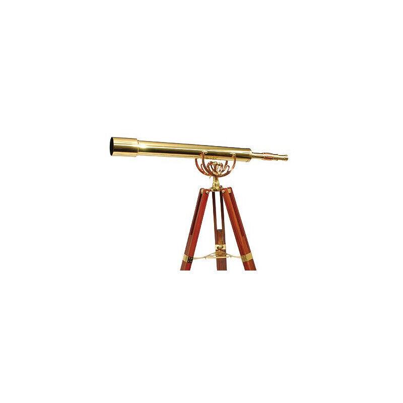 helios optics lunette astronomique en laiton helios optics mt 80/1000 28x