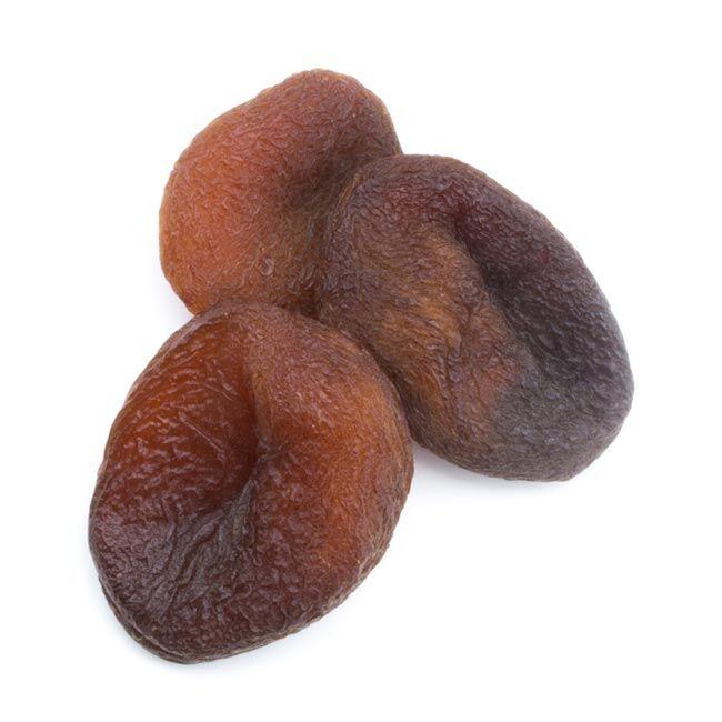 Divers Abricots secs noirs naturels dénoyautés