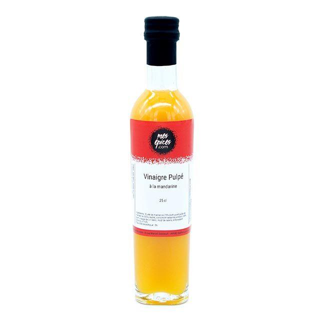 Divers Vinaigre à la pulpe de mandarine - 25 cl