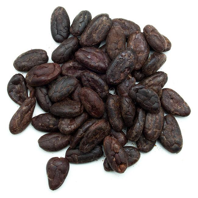 Divers Fèves de cacao torréfiées de Madagascar