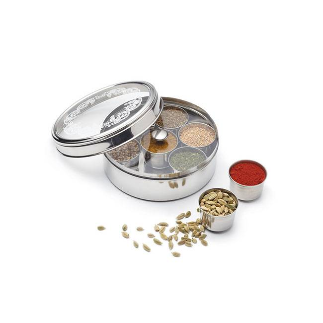 Kitchen Craft Massala Dabba (boîte à épices indienne)
