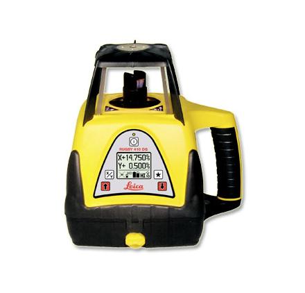LEICA Niveau Laser Rotatif Double Pentes Leica Rugby 410dg