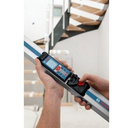 BOSCH Télémètre Laser Intérieur Glm 80 Pro  Bosch + Rail R 60